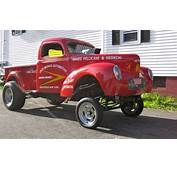 Jerry Augustines 41 Willys Gasser Pick Up  Hotrod Hotline