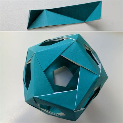 modular origami dodecahedron origami dodecahedron gallery craft decoration ideas