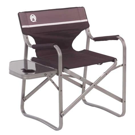 aluminum deck chair coleman