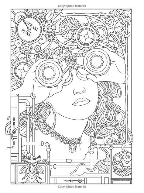 The Creative Colouring Book steunk coloring pages steunk designs coloring book creative coloring