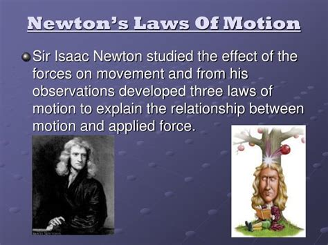 biography of isaac newton ppt biography of isaac newton and his three laws of motion ppt
