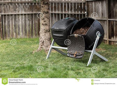 backyard composter backyard composter stock photo image 57549762