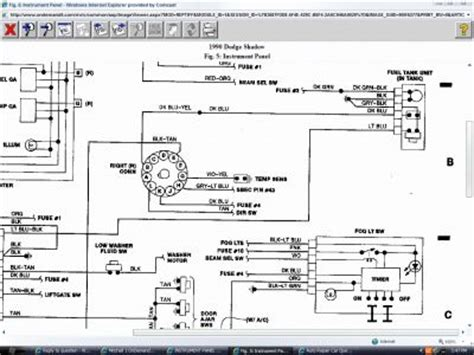 relay wiring diagram 1992 dodge shadow : 38 wiring diagram