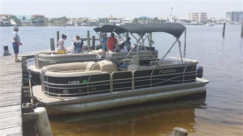 xcursion pontoon boat picture of destin vacation boat - Xcursion Pontoon Reviews
