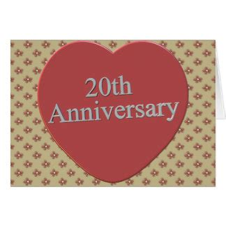 20th Anniversary Card Template by 20th Wedding Anniversary Cards Photo Card Templates
