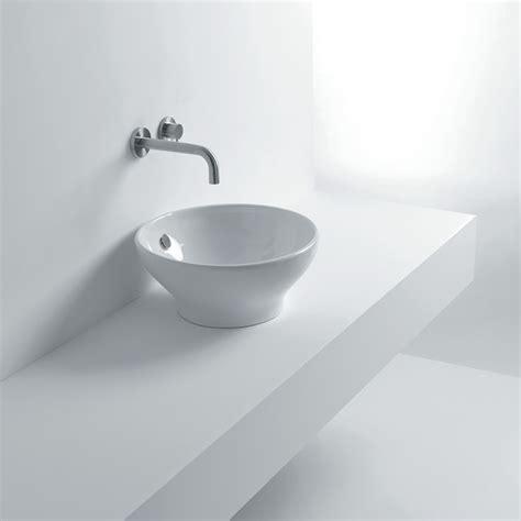 small bathroom vessel sink 17 quot small round vessel bathroom sink contemporary
