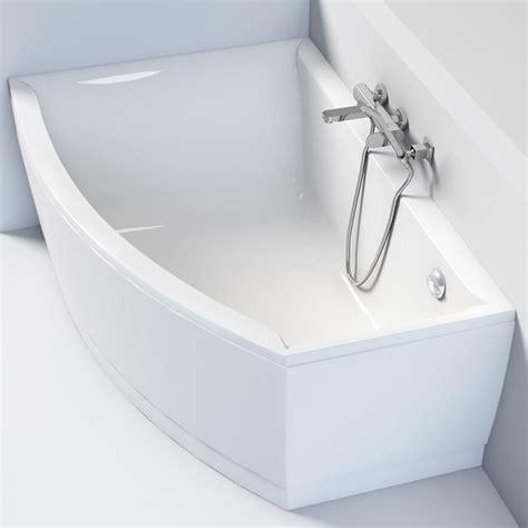 baignoire 160 cm baignoire angle asym 233 trique gauche 160 x 105 cm veronella