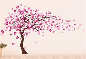 wall light tree cherry blossom tree wall decal modern wall decals