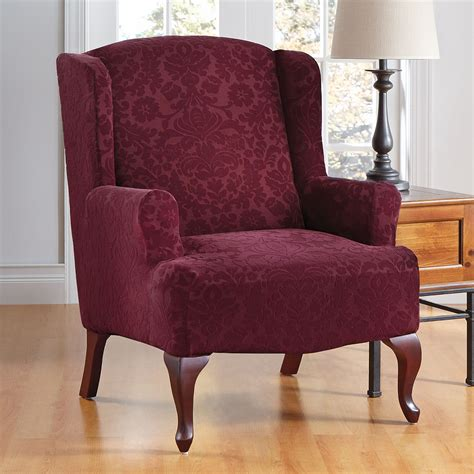 slipcovers for queen anne chairs elegant wingback chair slipcover the clayton design