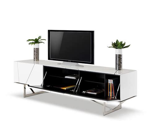 Dining Room Tables Miami by Rostock Modern White Tv Stand