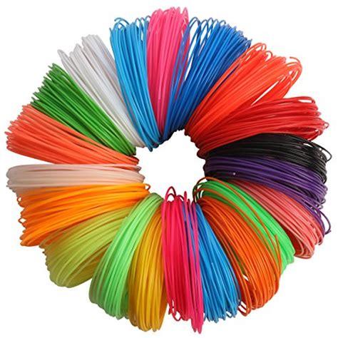 3d color 3d pen filament refills 20pc different colors 1 75mm