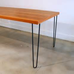 Dining Tables With Metal Legs Teak Dining Table With Metal Legs At 1stdibs