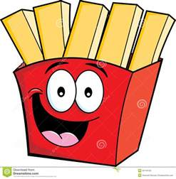 Cartoon french fries stock photos image 32745103
