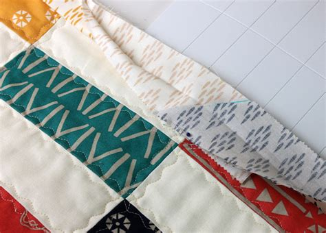 Binding Strips For Quilts by Simple Strips Quilt Along Part 5 Machine Binding