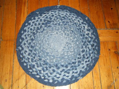 denim braided rug 15 diy craft ideas for denim reliable remodeler