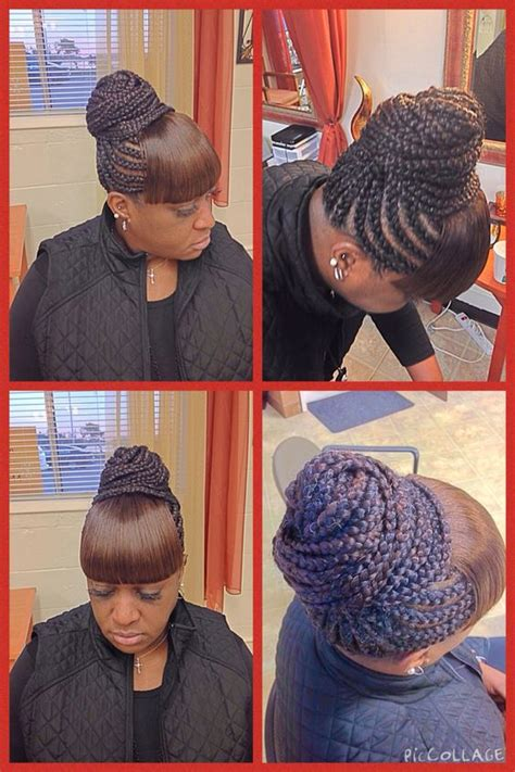 cornrows with bangs for women pinterest the world s catalog of ideas