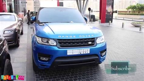 wrapped range rover autobiography satin blue wrapped rangerover sport autobiography from ksa