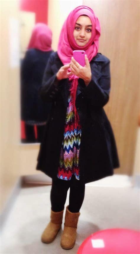 foto selfie hijaber hijab style