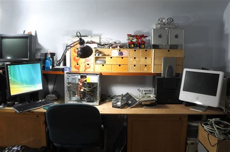 Computer Repair Desk Hackaday Forums View Topic Post Your Bench