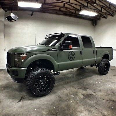 Word O Ryu Outer Army Green badass f250 minus the army green ford truck