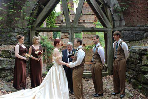 Sweetwater Creek Park Wedding, Photos by Christopher Bell