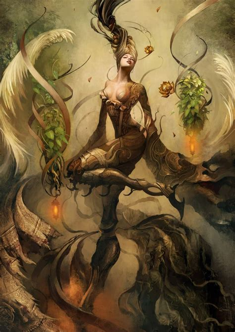 Mythical Creatures Of Asia kinnaree saryth chareonpanichkul in buddhist mythology