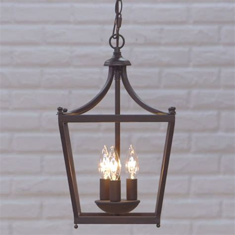 Light Fixtures For Foyer Capital Lighting Fixture Company Stanton Burnished Bronze Three Light Foyer Pendant On Sale