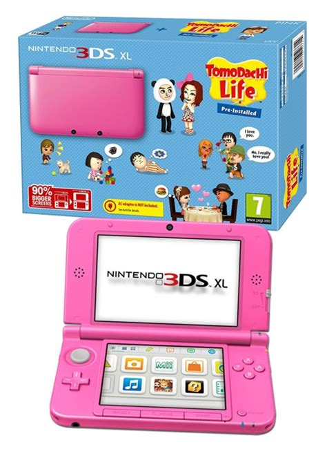 Ideas For Kitchen Storage In Small Kitchen nintendo 3ds xl pink with tomodachi life pre installed