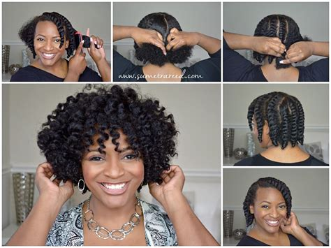 Hairstyles For Hair Twist Out On Hair by Easy Chunky Flat Twist Out Tutorial For Hair