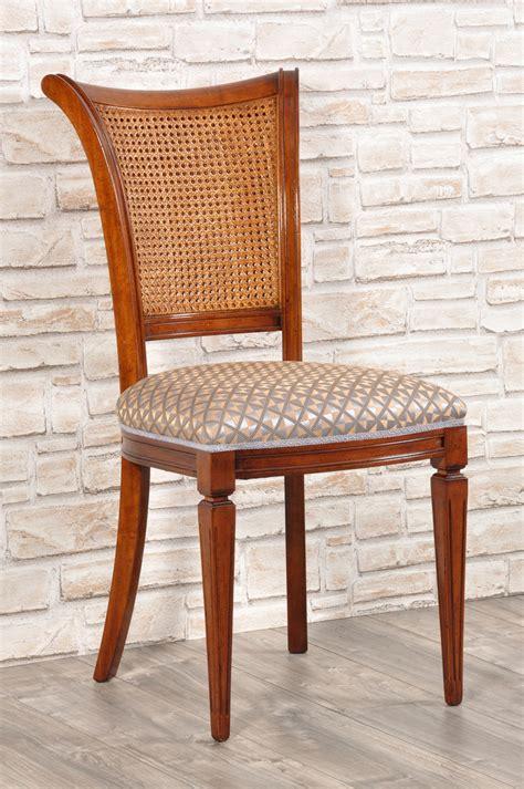 sedie in stile classico sedia in stile classico luigi xvi in legno di pregiato di