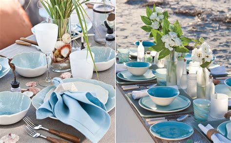 summer table settings tablescapes inspired by the sea southern lady magazine