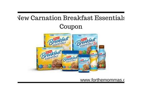 new coupon for carnation instant breakfast