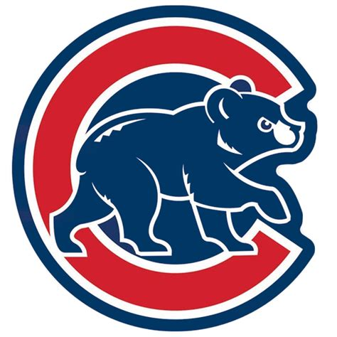 Chicago Cubs - chicago cubs mlb baseball alternate walking logo blue