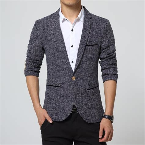 grey blazer men blazer slim fit grey new arrival 2015 casual suit