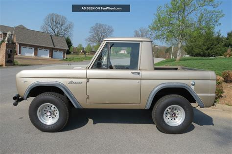 1968 Ford Bronco by 1968 Ford Bronco 4x4
