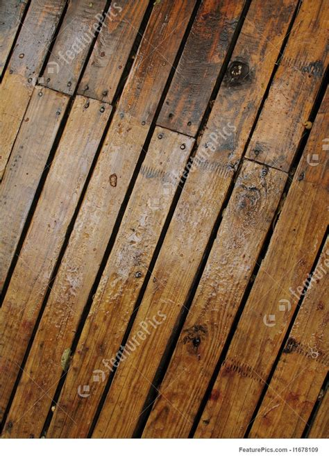 texture wet wood planks stock picture