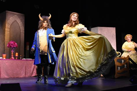 review beauty   beast  damascus theatre company  olney theater center dc metro