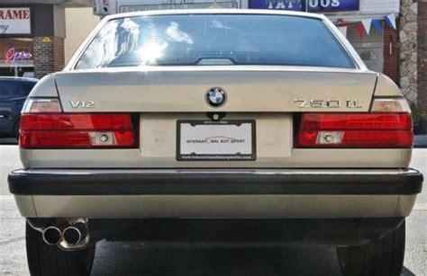 bmw 1990 7 series 1990 bmw 7 series 750il