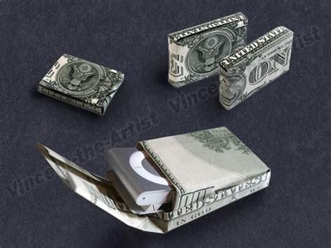 Origami Dollar Bill Box - dollar bill origami thin gift box money dollar origami
