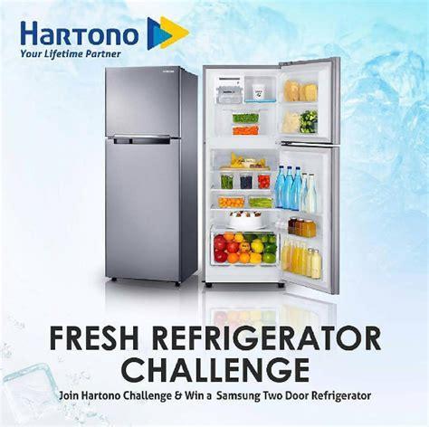 Kulkas Hartono fresh refrigerator challenge