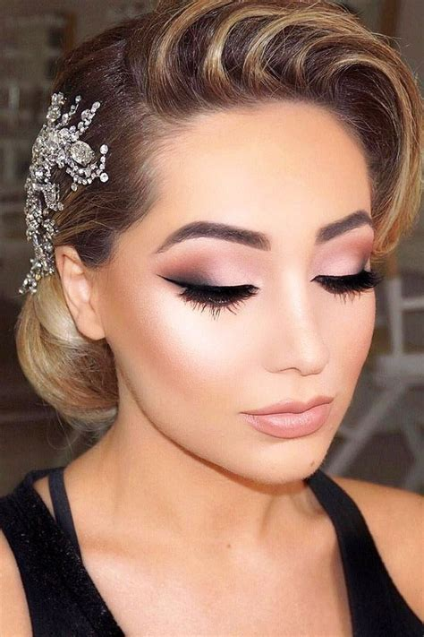 45 Wedding Make Up Ideas For Stylish Brides   Make me up