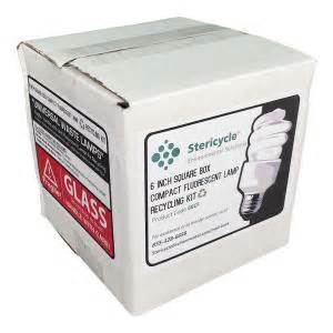 home depot light recycling compact fluorescent l cfl consumer box prepaid