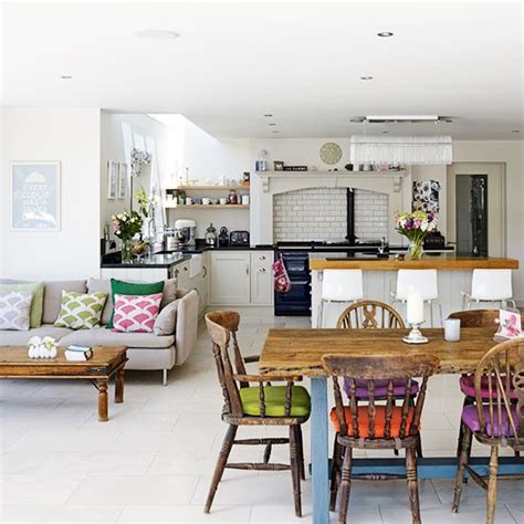 kitchen family room layout ideas open plan family kitchen diner family kitchen design ideas housetohome co uk