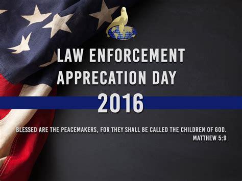 Officer Appreciation Day by Enforcement Appreciation Day 2016