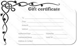 pages gift certificate template 30 printable gift certificates certificate templates