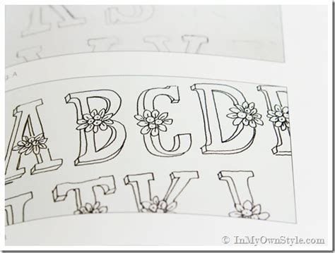 how to write cool letters on paper a lost pretty lettering in my own style
