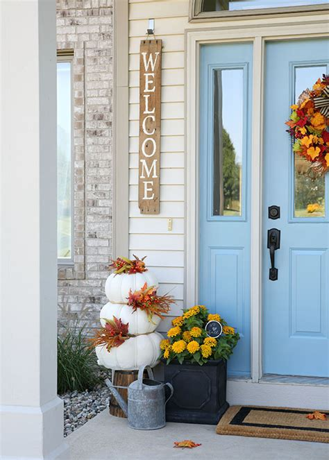 home design ideas fall front door decorations hobby lobby