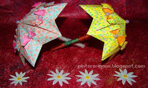 tutorial origami ikan hias origami payung lucu cara membuat origami bunga