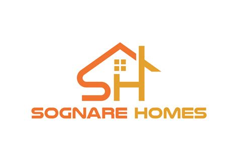 sognare homes logo web design