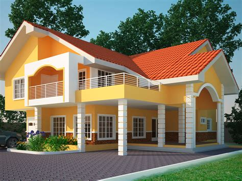 four house house plans ghana yaw 4 bedroom house plan in ghana for sale